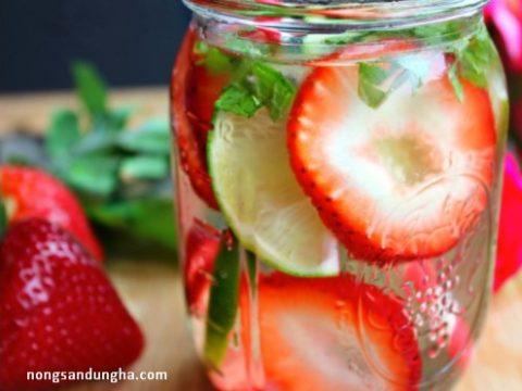 Top 10 loại detox giảm cân siêu tốc từ hoa quả cho chị em