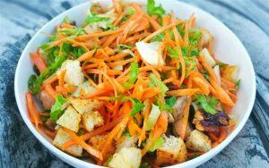 salad ga banh my mon an ngon