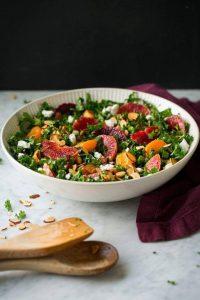 cach lam salad cai xoan