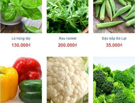 Thị trường giá rau sạch 2018: giá rau đà lạt hôm nay bao nhiêu tiền?