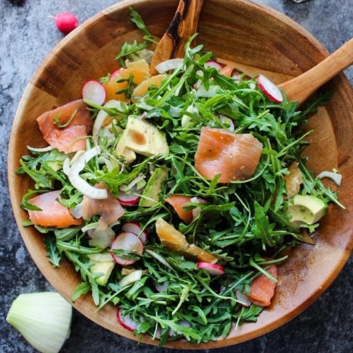 salad ca hoi rocket