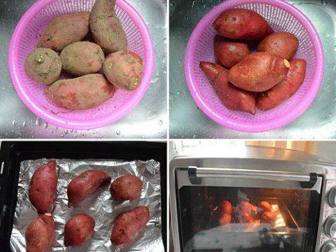 Mùa đông ấm áp với 3 cách nướng khoai lang đơn giản tại nhà