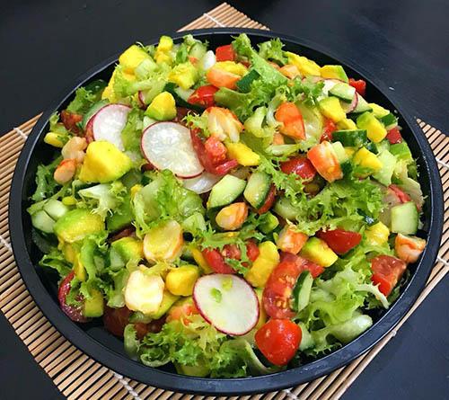 salat rau cu qua