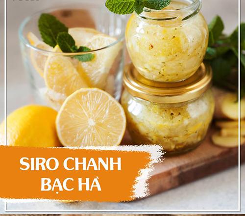 siro chanh bac ha
