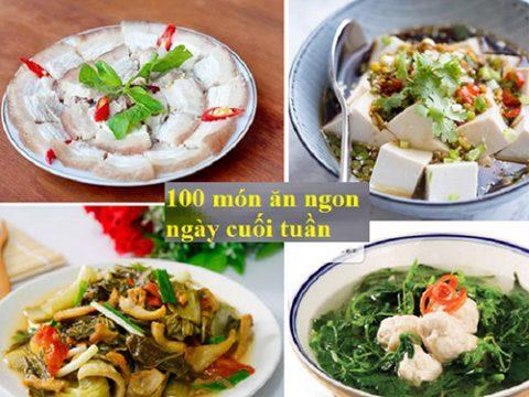 Tuyển chọn 5 Công thức nấu món ngon cho ngày cuối tuần, ngày lễ