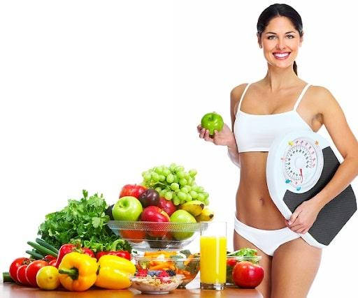 giảm cân lành mạnh