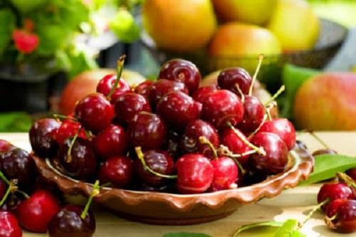 kiểm soát lượng đường nhờ dinh dưỡng của trái cherry