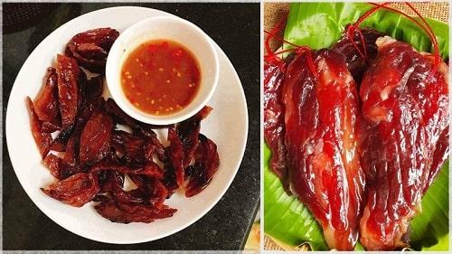 món ăn tết đặc trưng của người hoa - lạp vịt
