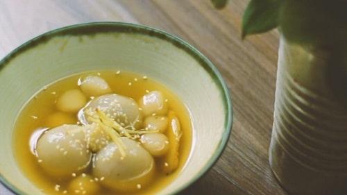 chè trôi nước - món ăn truyền thống của người Hoa