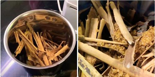 Nguyên liệu cần chuẩn bị để làm bột quế tại nhà
