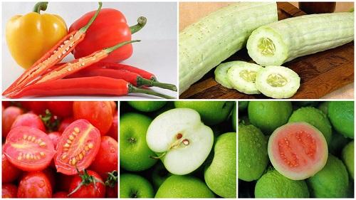 Những loại trái cây không nên ăn hạt